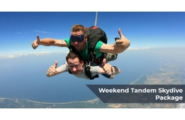 Weekend Tandem Skydive