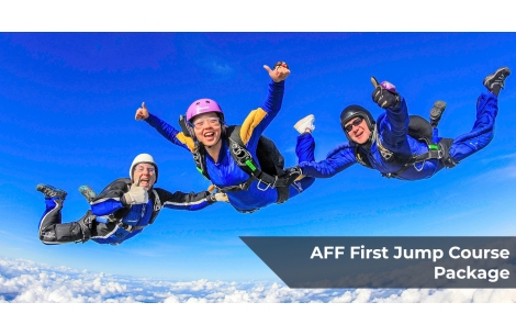 AFF - First Jump Course